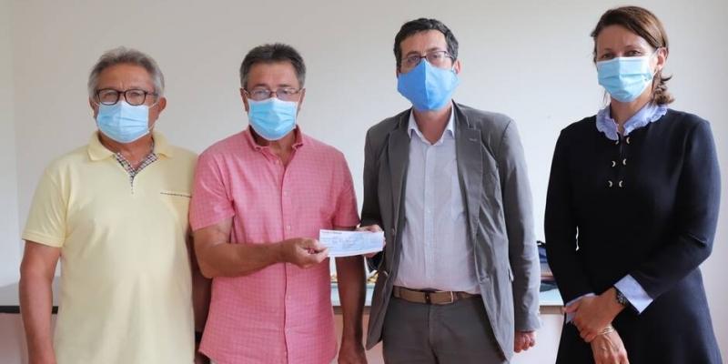 Cholet. 3000€ de dons pour l'hôpital