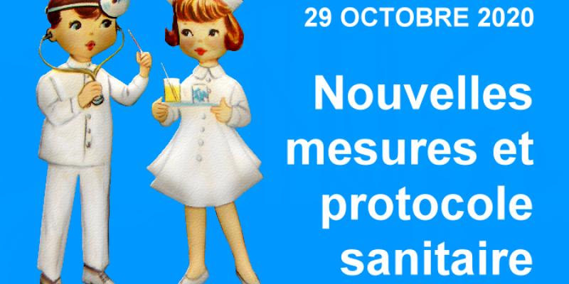 Nouvelles mesures et protocole sanitaire applicables depuis le 29 octobre 2020 minuit | Aurélie Arnaud, Droit du Travail Paris 8