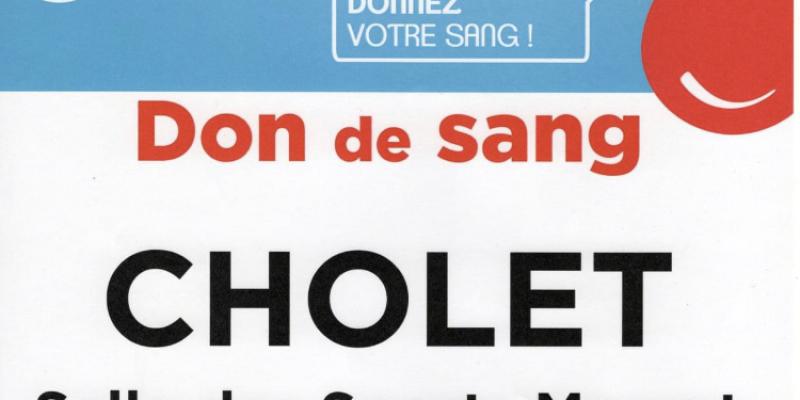Don du sang Cholet