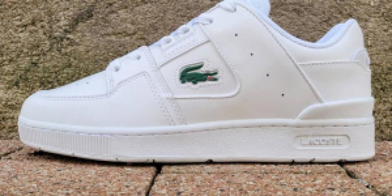 Chaussures Lacoste homme blanche cholet - 105.00€ sur Bitume Cholet