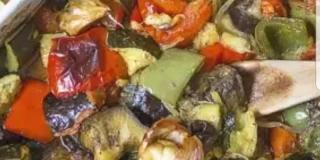 Ratatouille confite relevée de piment : la recette de Yiqing