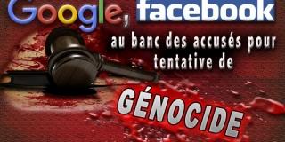 Google et Facebook au banc des accusés pour tentative de génocide | www.kla.tv/17229