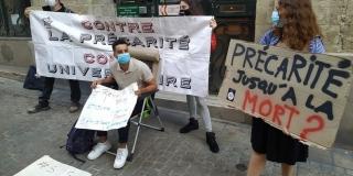 Mehdi, en grève de la faim depuis 3 jours
