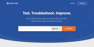 Geekflare Tools for Webmaster, Web Engineer, Security Analyst, and SEO Expert