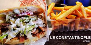 Menu Kebab Cholet : kebab frites, boisson   Le Constantinople
