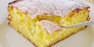 Le gâteau sans œufs et sans lait en 5 minutes - Astuces Au Feminin, Recettes de cuisine de A à Z