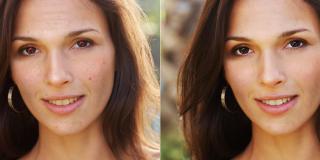Retouche des portraits photo gratuite | Retouche de visage en ligne