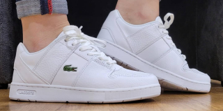 LACOSTE THRILL Blanc CHOLET