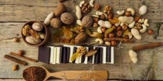 Cacao et fruits secs, bons pour le cerveau et la santé