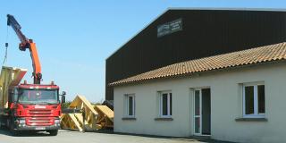 Charpente industrielle : Colineau Christian