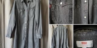 Robe Levi's Cholet noire/gris