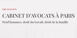 OBP Avocats | Paris 10ème